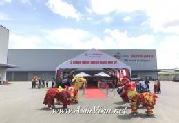 Lễ Khánh Thành Kho Sotrans Phú Mỹ
